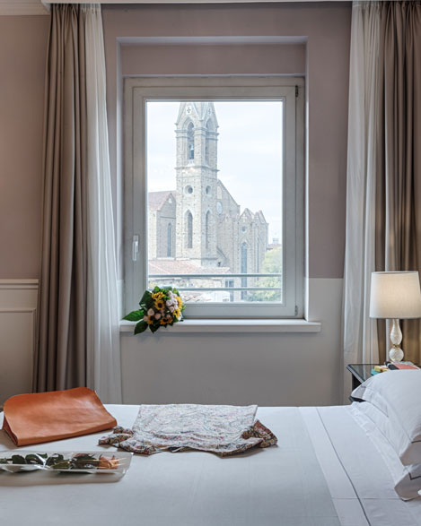 rooms superior hotel 4 stars superior Plaza Lucchesi center of Florence